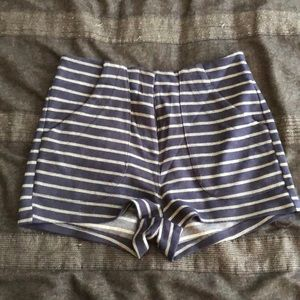 High waisted shorts by Lush Sz small